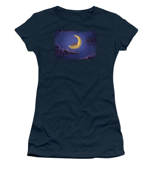 Women's T-Shirt featuring the drawing Sweet Dreams by Julia Art
