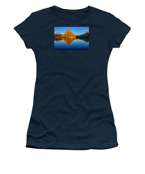 Swiftcurrent Morning Reflections Women's T-Shirt (Junior Cut) by Greg Norrell