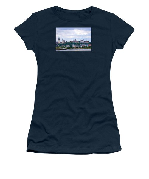 Tallinn Estonia. Women's T-Shirt (Athletic Fit)