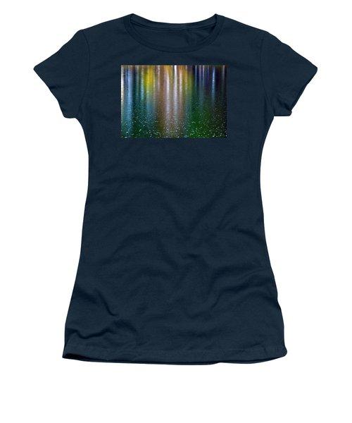 Tears On A Rainbow Women's T-Shirt (Junior Cut) by John Haldane