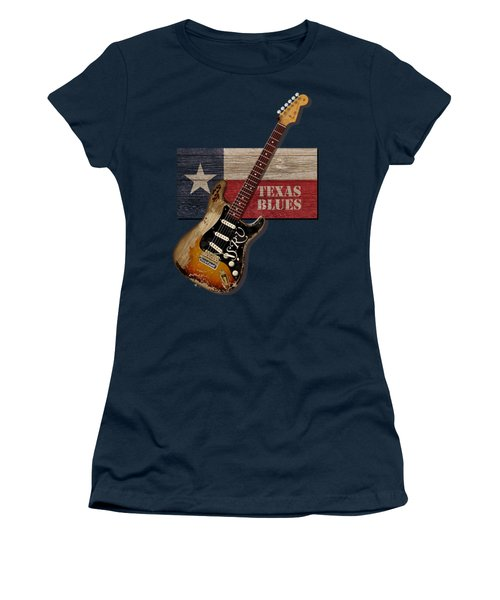 Texas Blues Shirt Women's T-Shirt (Athletic Fit)