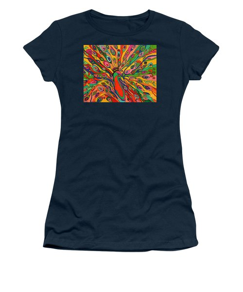 That Bloomin Peacock Women's T-Shirt (Athletic Fit)