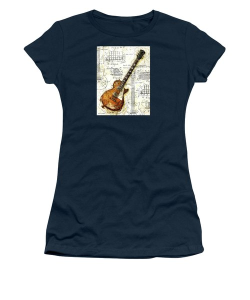 The 1955 Les Paul Custom Women's T-Shirt (Athletic Fit)