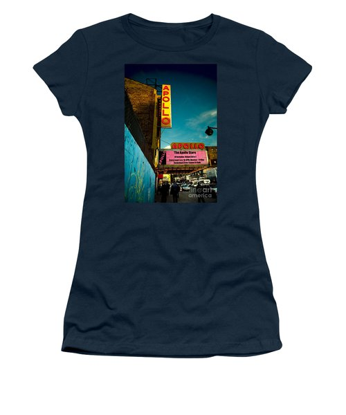 The Apollo Theater Women's T-Shirt (Athletic Fit)