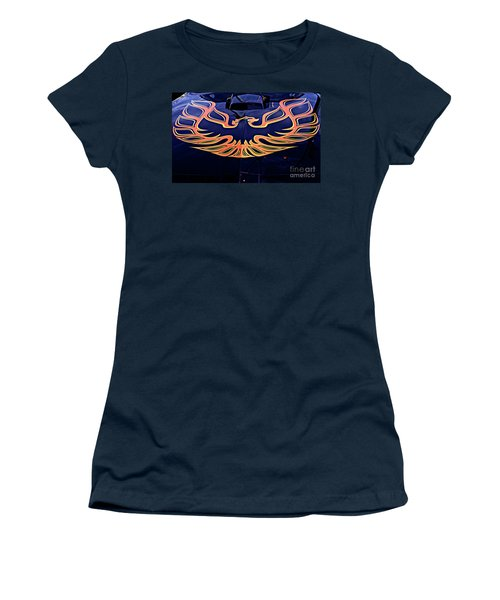 The Bird - Pontiac Trans Am Women's T-Shirt (Junior Cut) by Jane Eleanor Nicholas