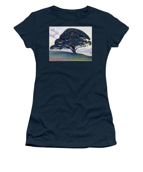 The Bonaventure Pine  Women's T-Shirt (Athletic Fit)