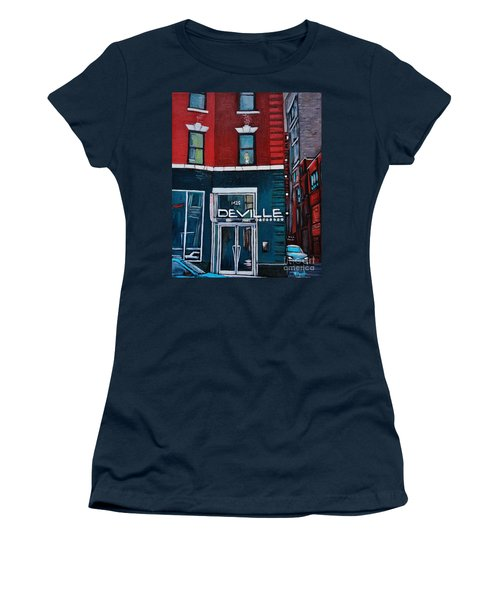 The Deville Women's T-Shirt (Athletic Fit)