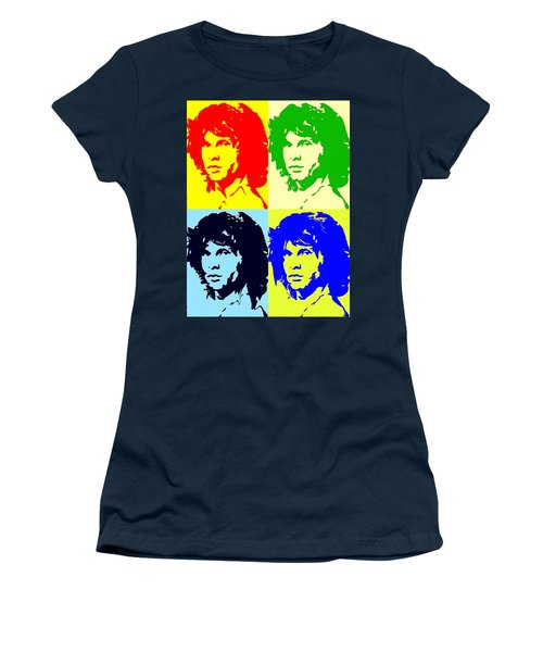 The Doors And Jimmy Women's T-Shirt (Junior Cut) by Robert Margetts