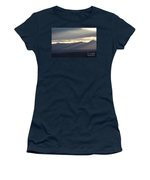 Women's T-Shirt (Junior Cut) featuring the photograph The Dying Of The Day by Brian Boyle
