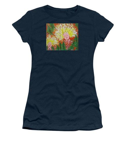 Family 2 Women's T-Shirt (Junior Cut) by Rita Fetisov