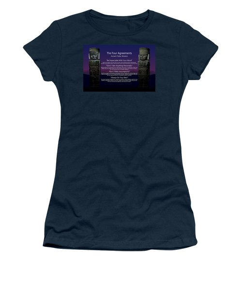 The Four Agreements Poster Women's T-Shirt
