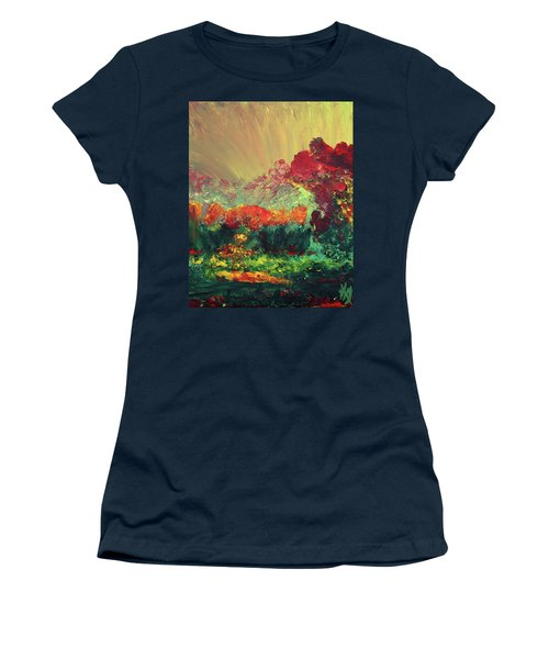 The Garden Women's T-Shirt (Junior Cut) by Karen Nicholson