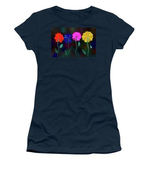 Women's T-Shirt (Junior Cut) featuring the photograph The Garden by Paul Wear