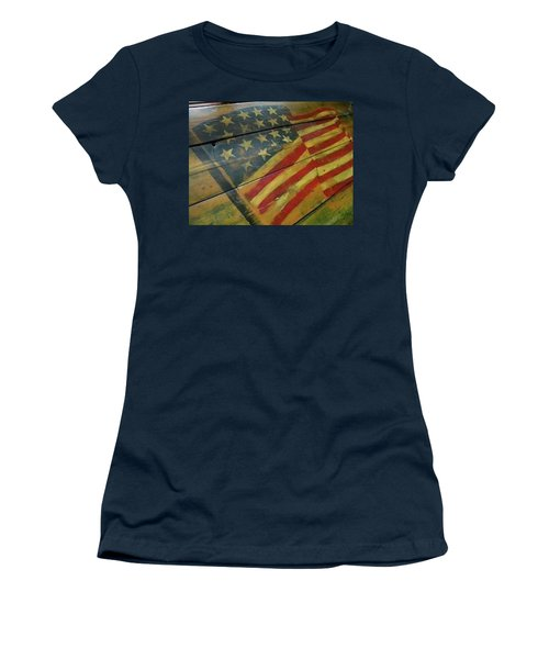 The Great American West Cafe  Women's T-Shirt (Junior Cut) by Sian Lindemann