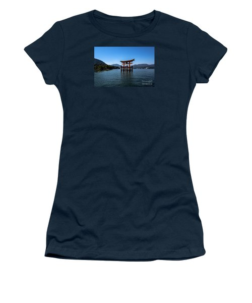 Women's T-Shirt (Junior Cut) featuring the photograph The Great Torii by Pravine Chester