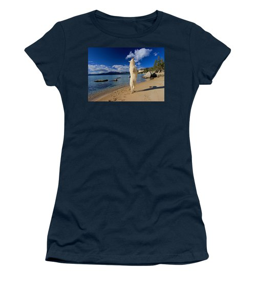 Women's T-Shirt (Athletic Fit) featuring the photograph The Joy Of Being Well Loved by Sean Sarsfield