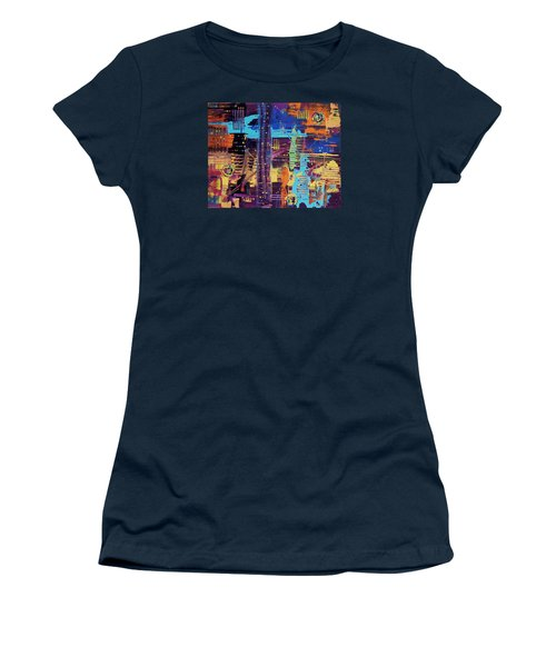 The La Sky On The 4th Of July Women's T-Shirt (Athletic Fit)