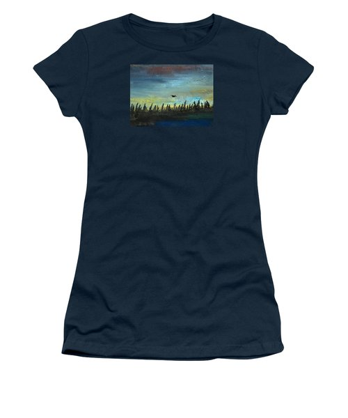 The Loner Women's T-Shirt (Junior Cut) by R Kyllo