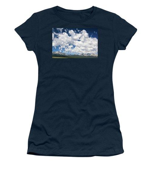 The Mid Point Between Ante Meridiem And Post Meridiem, Between A.m. And P.m.  Women's T-Shirt (Junior Cut) by Bijan Pirnia