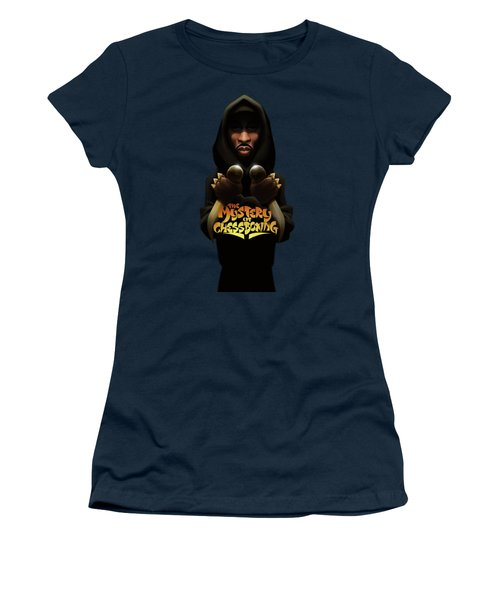 Women's T-Shirt (Junior Cut) featuring the digital art The Mystery Of Chessboxing by Nelson dedosGarcia