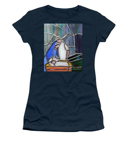 The Nativity  Women's T-Shirt (Athletic Fit)