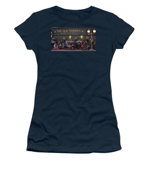 The Old Triangle Alehouse Women's T-Shirt (Athletic Fit)