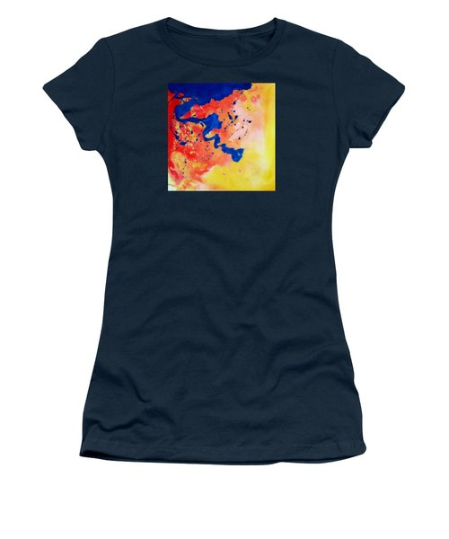 The Spill Women's T-Shirt (Junior Cut) by Mary Kay Holladay