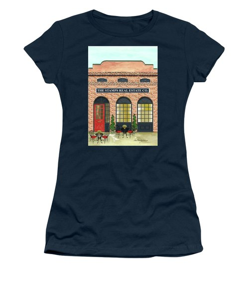 The Stamps Real Estate Co. Women's T-Shirt (Athletic Fit)