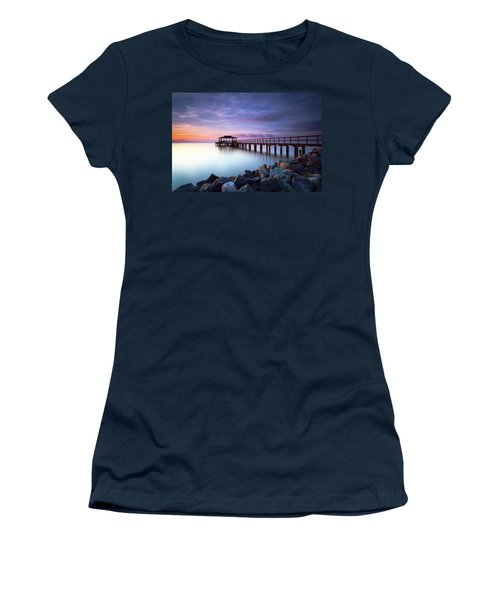 The Sun Watcher Women's T-Shirt (Athletic Fit)