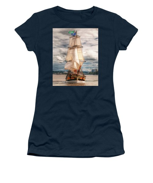 The Tall Ship The Lady Washington Women's T-Shirt (Athletic Fit)