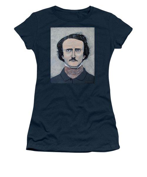 The Telltale Heart Of Edgar Allen Poe. Women's T-Shirt (Athletic Fit)