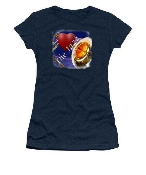 The Trombone Jazz 002 Women's T-Shirt