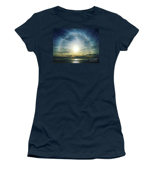 The Lord Is Over The Waters... Women's T-Shirt (Athletic Fit)