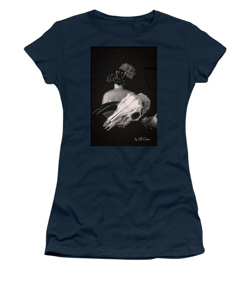 Women's T-Shirt (Athletic Fit) featuring the photograph Thinking Of Georgia O'keeffe by Elf Evans