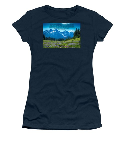 This Is My Fathers World 3 Women's T-Shirt (Junior Cut) by Lynn Hopwood