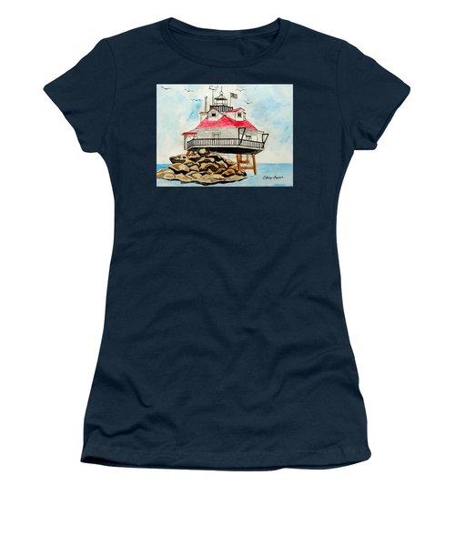 Thomas Point Lighthouse Women's T-Shirt