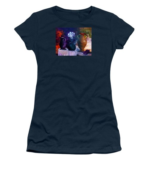 Three Best Friends Women's T-Shirt (Athletic Fit)