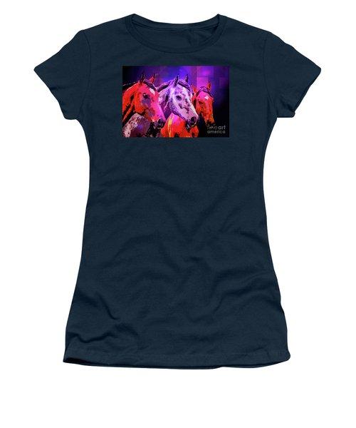 Three Horses Women's T-Shirt