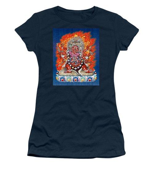 Tibetan Thangka Remake - Hayagriva Women's T-Shirt