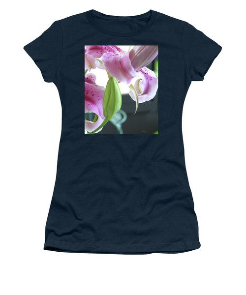 Tiger Lily Bud Women's T-Shirt