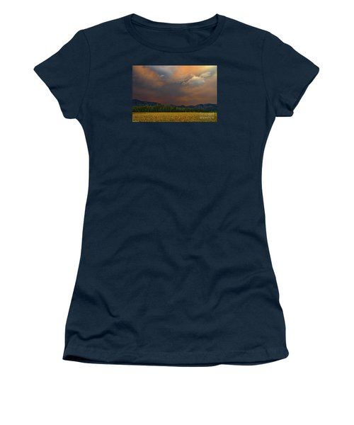 Tormented Sky Women's T-Shirt (Junior Cut) by Mitch Shindelbower