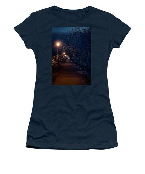 Town Street A Night Women's T-Shirt