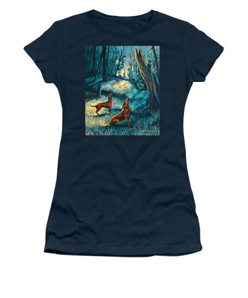 Treed At Dawn Women's T-Shirt (Athletic Fit)
