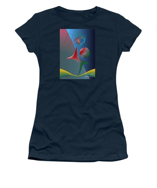 Trick Women's T-Shirt (Junior Cut) by Leo Symon