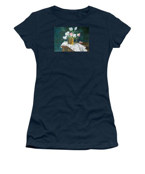 Tulips Women's T-Shirt (Junior Cut)