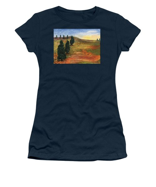 Tuscan Lights Women's T-Shirt (Athletic Fit)