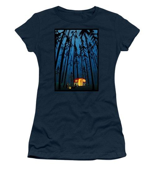 Twilight Camping Women's T-Shirt