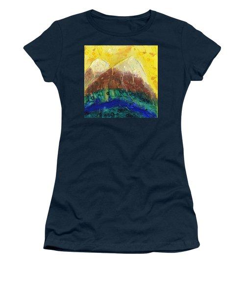 Twin Peaks I Women's T-Shirt (Junior Cut) by Phil Strang