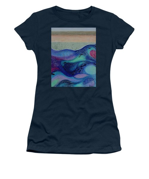 Undersea Movement Women's T-Shirt (Athletic Fit)