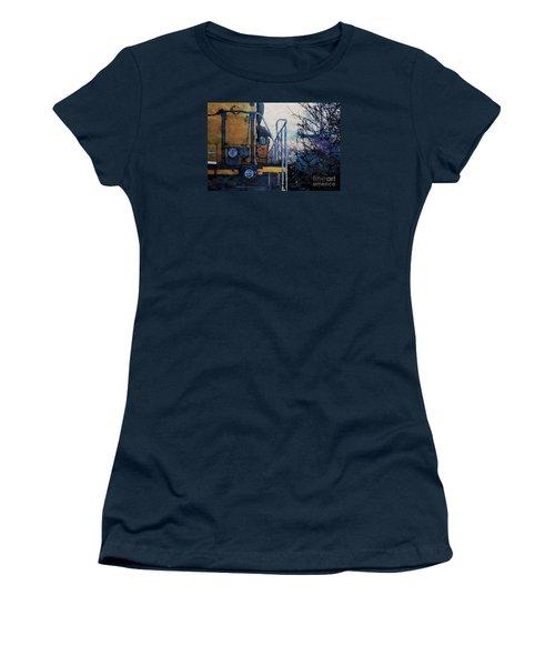 Union Pacific 1474 Women's T-Shirt (Junior Cut) by David Blank